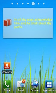 Bible Verses Widget - screenshot thumbnail