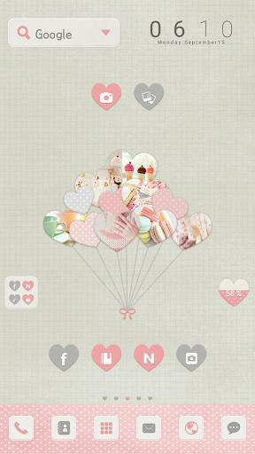 Balloon dodol luancher theme