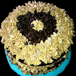 Triple Chocolate Celebration Cake