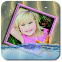 Photo In Water Live Wallpaper☆ icon