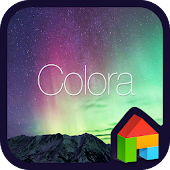Colora LINE Launcher theme