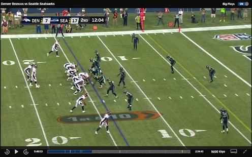 NFL Preseason Live for Tablet - screenshot thumbnail