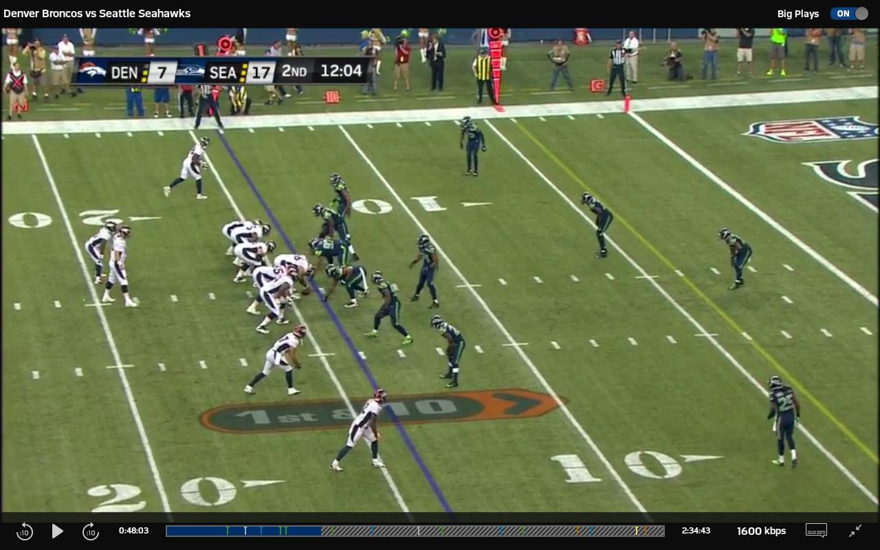 NFL Preseason Live for Tablet - screenshot