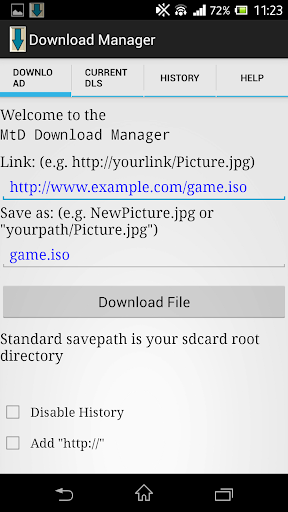 MtD Download Manager