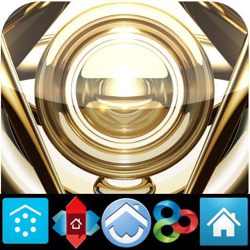 GOLD HD icons adw apex nova go