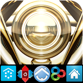 GOLD HD icons adw apex nova go