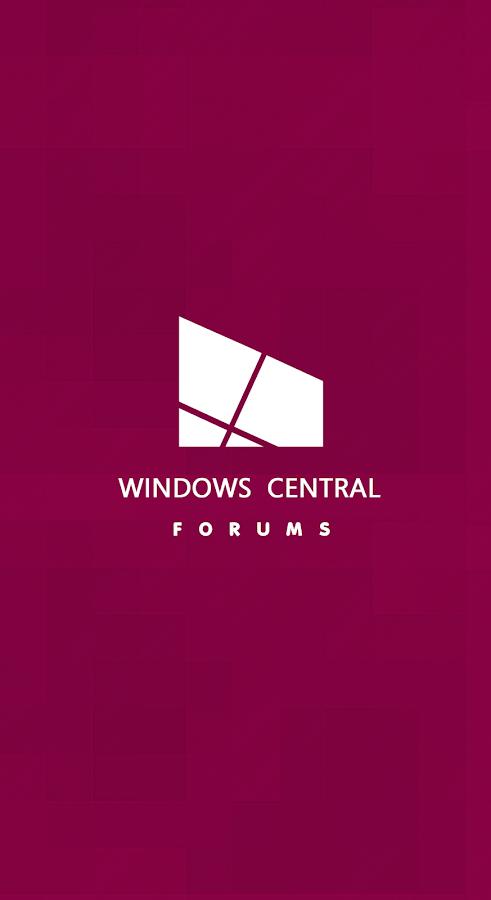 Windows Central Forums- screenshot