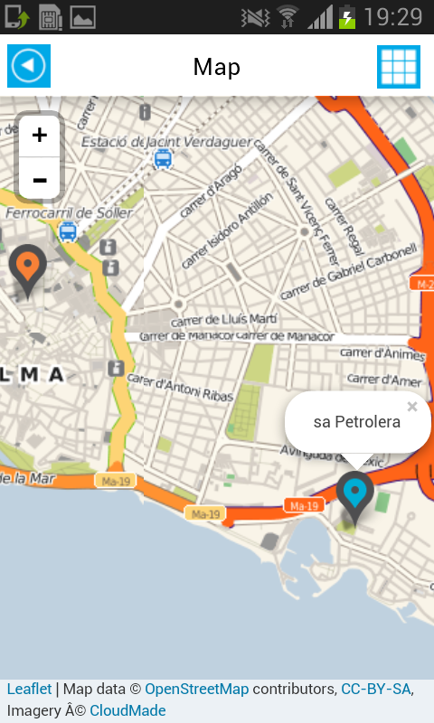 majorca offline map guide android apps on google play. Black Bedroom Furniture Sets. Home Design Ideas