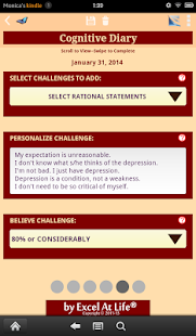 Depression CBT Self-Help Guide - screenshot thumbnail