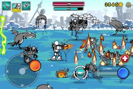 Cartoon Wars: Gunner+ Screenshot 3