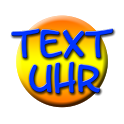 Text Uhr icon