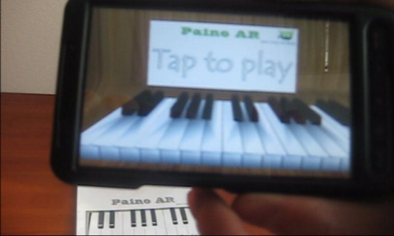 Piano AR Demo- screenshot