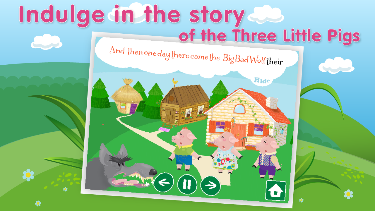 Uncategorized The Three Little Pigs Story For Children three little pigs bad wolf android apps on google play screenshot
