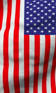American flag live wallpaper- screenshot thumbnail