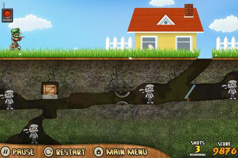 Spud Gun Attack - screenshot