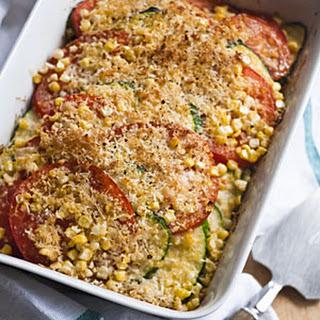 Tomato-Zucchini Bake.