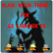 Black Witch Halloween Theme