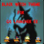 Black Witch Halloween Theme