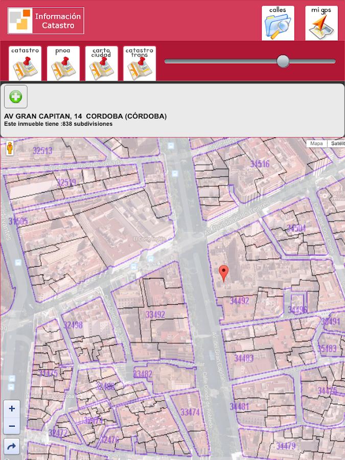 Catastro virtual mapa my blog for Catastro pontevedra oficina virtual