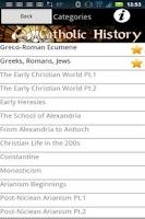 Screenshot of Audio Catholic History