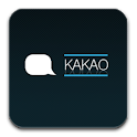 Kakao Talk Theme Chic Cyan