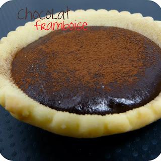 Raspberry-Chocolate Tart.