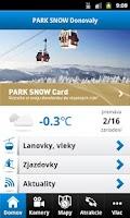 Screenshot of PARK SNOW Donovaly