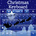 Рождество Клавиатура Санта icon