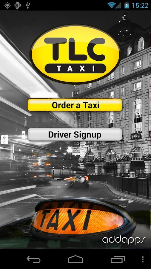 TLCtaxiApp (London Cab) - screenshot