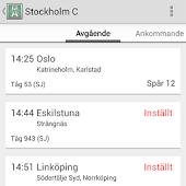 Train Info Sweden