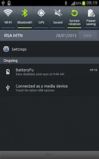 BatteryFu battery saver- screenshot thumbnail