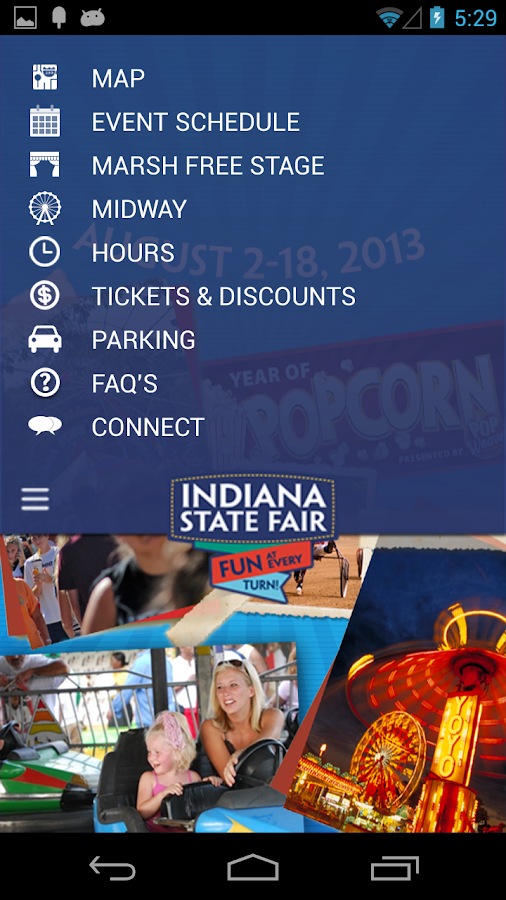 Indiana State Fair - 2013 - screenshot