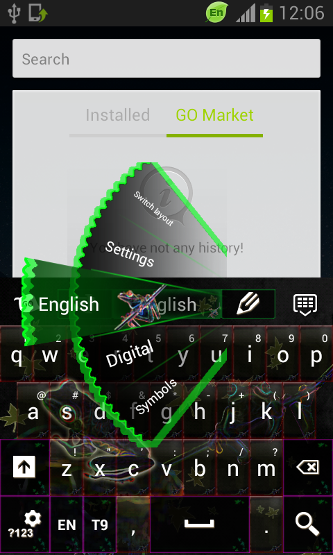 Nature Keyboard - screenshot