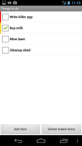 Handy List