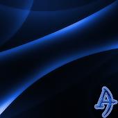 Darkness Blue Xperien Theme