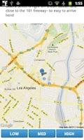 Screenshot of Los Angeles Travel Guide