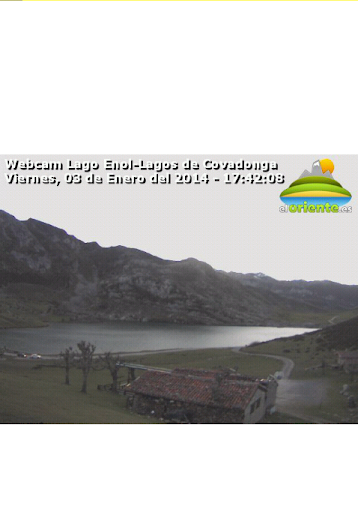 Webcam Lago Enol-ElOriente.es