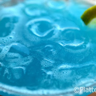 Winter Blues Margarita