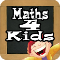 Add & subtract children learn icon