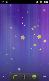 Stars Live Wallpaper Screenshot 1