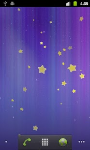 Stars Live Wallpaper Screenshot 1