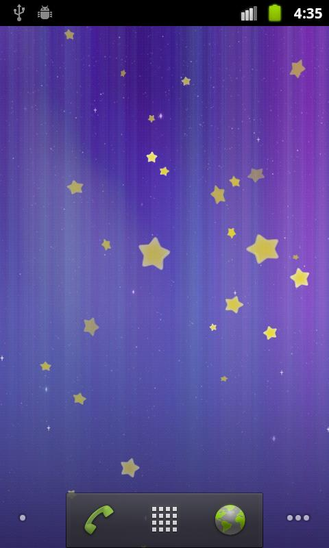 Stars Live Wallpaper- screenshot
