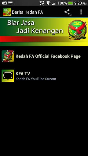Berita Kedah FA