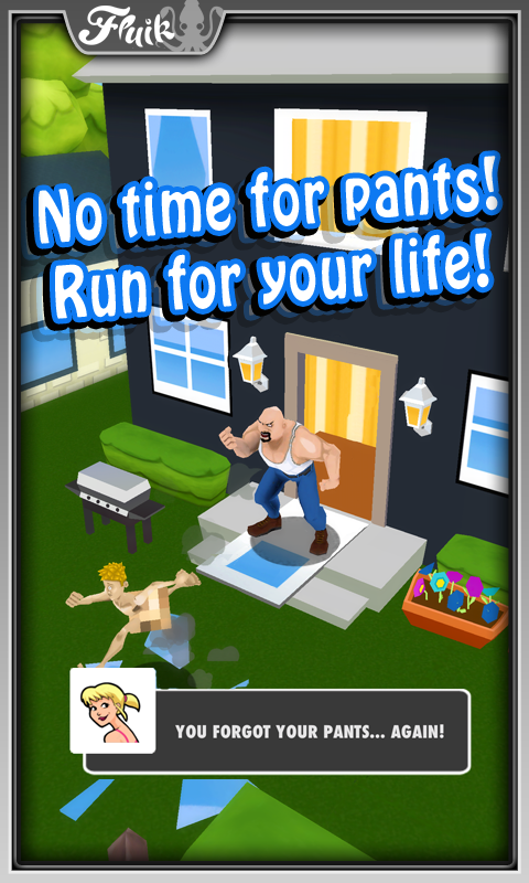 Streaker Run - screenshot
