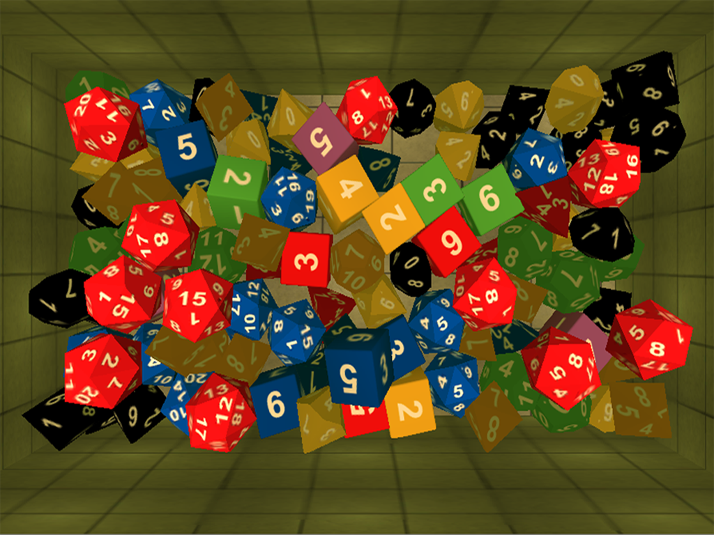 Dice & Dragons D&D 3D- screenshot