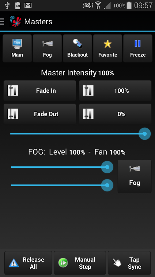 Freestyler Dmx Remote - screenshot