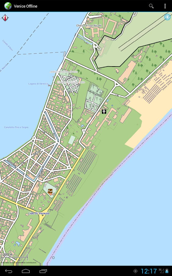 Offline Map Venice Italy Android Apps On Google Play - Venice map image