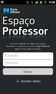 Espaço Professor - screenshot thumbnail