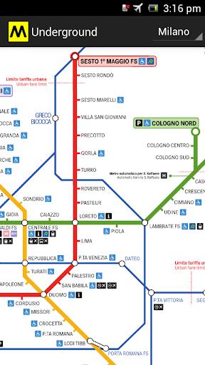 地鐵米蘭羅馬
