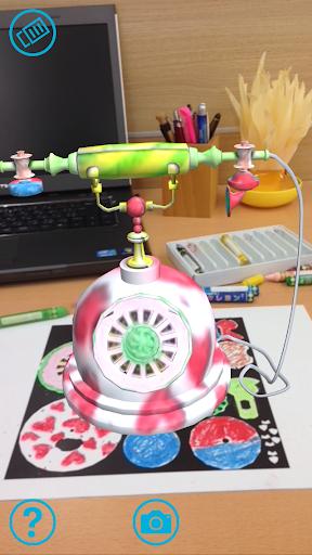 daub – 3D coloring AR App